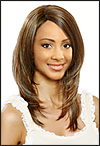 Monofilament wig, BOBBI BOSS Lace mono top wig Lucas, Heat-proof Synthetic hair wig