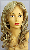 Envy lace front wig Alana, color shown medium blonde