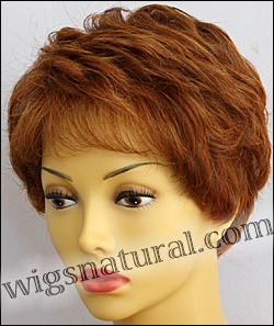 Envyhair wig Heather, Mono top lace front hand-tied sides and back wig