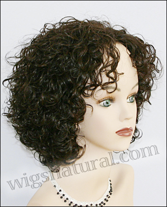 Human hair wig Coco, color #2, Beauty of Gold Collection