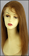 Virgin European hair full lace wig, wig style VW-GCLBrown-Straight-8M26-22, on sale