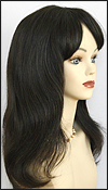 Human hair wig HM MEGAN, SEPIA Wig Collection, color 1B