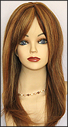 Human hair wig HM MEGAN, SEPIA Wig Collection, color H27/4/30