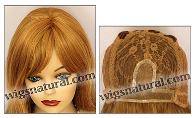 Human hair wig HM MEGAN, SEPIA Wig Collection, color #27