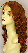 Silk top full lace wig, or Full lace wig, Virgin European hair, virgin Brazilian hair, or virgin Asian hair, style VW-MCopper-BodyCurl-25-22