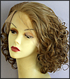 Ukrainian virgin hair lace wig, Russian virgin hair lace wig, wig style UR-MBlond-VinCurl-11NHL10-18