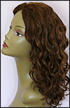 Glueless Lace Front Wig, Indian Remy hair wig, Wig style WNGL-wavyCurl-30HL4-22, custom