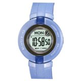 Baby-G Women's Blue Bezel Resin Watch BG1200-2B