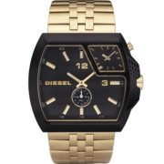 Diesel Analog Dual Time Black Dial Men's watch #DZ1408