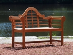 4' Lutyen Bench - Natural