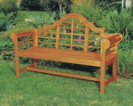 5' Lutyen Bench - Natural