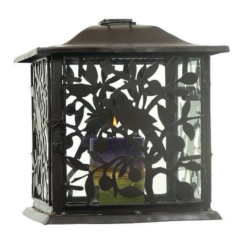 Parrot and Berries Lantern