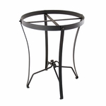 Wrought Iron Stand: Round (for C-50 & C-70)