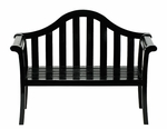 Camelback Bench - Black