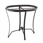 Wrought Iron Stand: Oval (for C-51 & C-71)