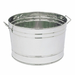 Round Stainless Steel Tub