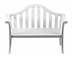 Camelback Bench - White