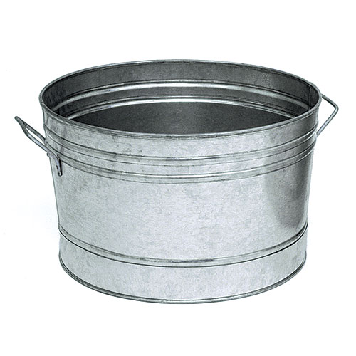 Round Galvanized Steel Tub