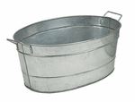 Standard Oval Galvanized Steel Tub
