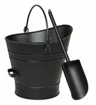 Coal Hod / Pellet Bucket with Scoop
