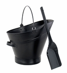 Traditional Coal Hod with Scoop