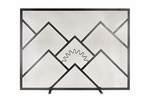 Sunrise Fireplace Screen - Large