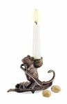 Intrepid Mouse Candle Holder