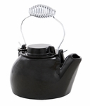 2½ qt. Cast Iron Humidifying Kettle - Black