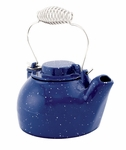 2½ qt. Cast Iron Humidifying Kettle - Blue