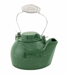 2½ qt. Cast Iron Humidifying Kettle - Green