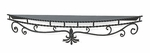 Mantel Shelf - Wrought Iron - 60""