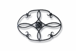 Wrought Iron Trivet - Clover