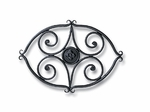 Wrought Iron Trivet - Scroll