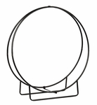 "Wrought Iron Wood Hoop -  48""H (Knocked Down)"
