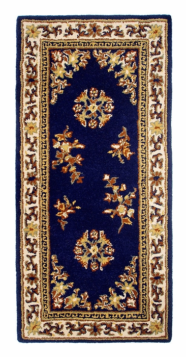 "Oriental 56"" x 26"" Rectangular - Blue"