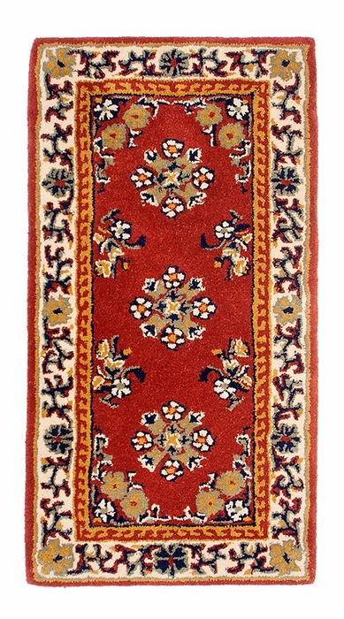 "Oriental 44"" x 22"" Rectangular - Burgundy"
