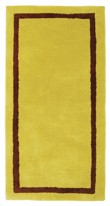 Contemporary - Rectangular - Amber/Green
