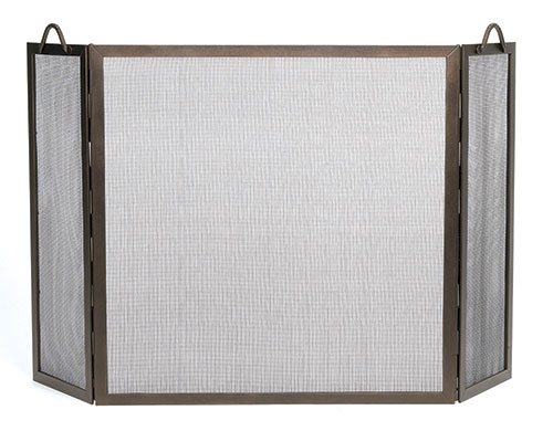 Twisted Rope 3-Fold Screen - Bronze