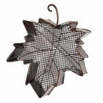 Maple Leaf Bird Feeder