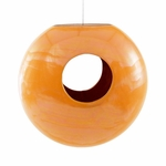 Torus Bird Feeder Orange