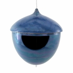 Acorn Bird Feeder Blue