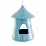 Chickee Bird Feeder Aqua