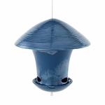 Parasol Bird Feeder Blue