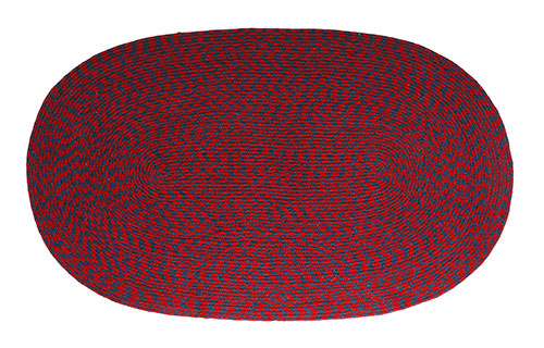 "24"" x 48"" Braided Wool Rug - Regal"