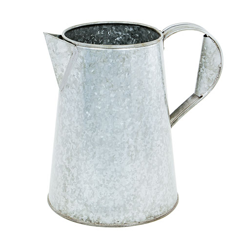 Flower Carafe - Galvanized