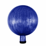"10"" Gazing Globe - Crackle - Blue"