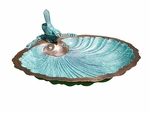 Scallop Shell Birdbath