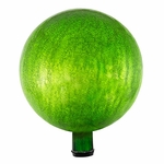 "12"" Gazing Globe - Crackle - Fern Green"