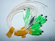 10 degree Optical Fiber Pigtail with SC/APC Connector. SMF-28 (10pcs)