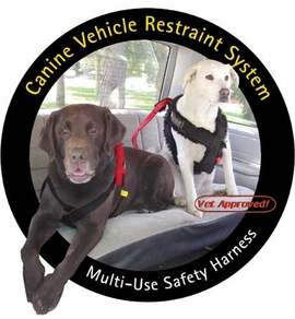 Ruff Rider Basic Harness - Car Restraint - Dog Seat Belt